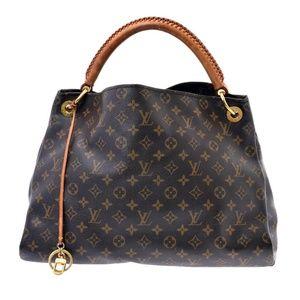 Auth Louis Vuitton Artsy Mm Shoulder Bag #874L99